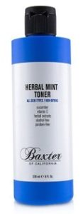Herbal Mint Toner from Baxter of California